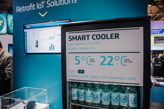 Telefónica CeBIT 2017 - Smart Cooler
