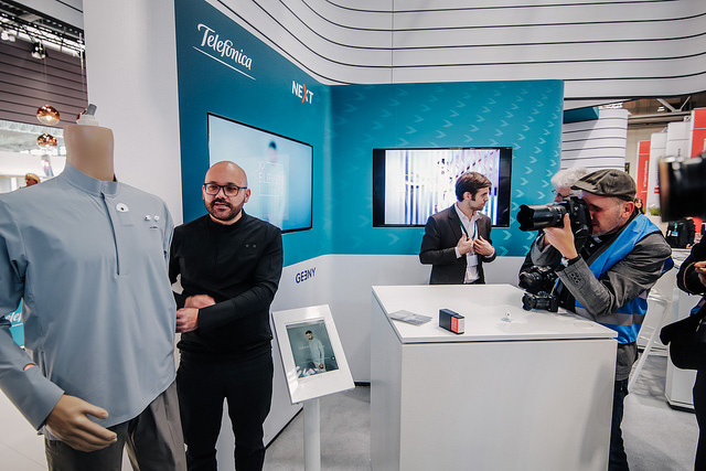 Telefónica CeBIT 2017 - Smart Shirt